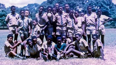 Friends from Zambia