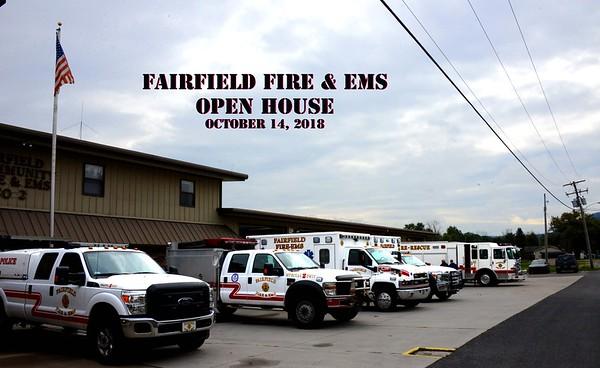 Fairfield Fire Open House October 2018