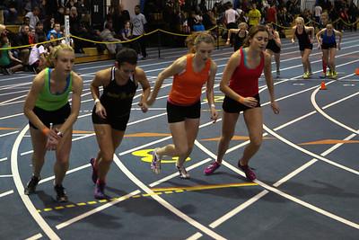 MITS Track at UM 1-17-2013 - 1600 meter run