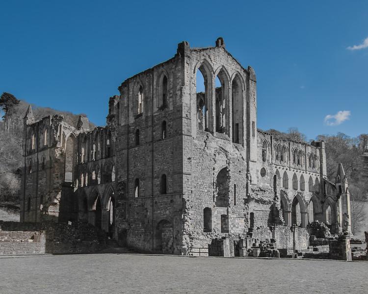 Rievaulx Abbey Exterior