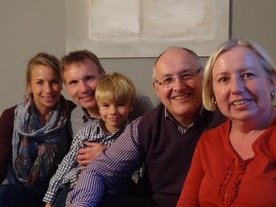 The Peter Family, September 2012