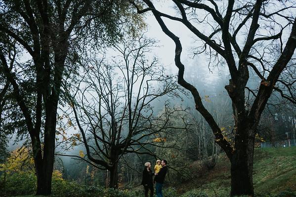 McNett Family in the Fog