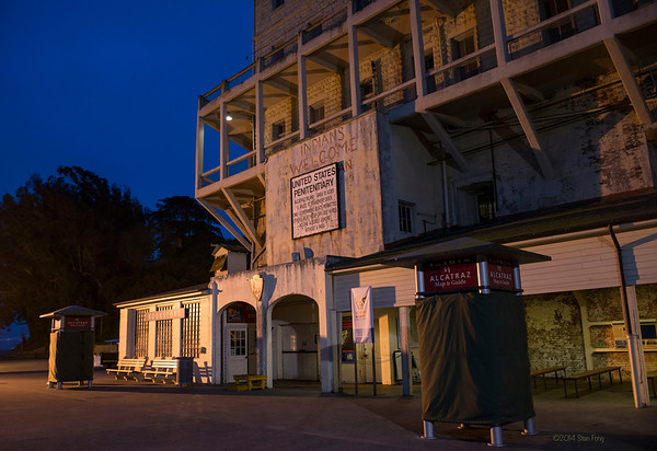 Alcatraz at Night