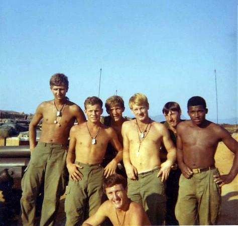 69-70 B Battery Allen Shafer Photos