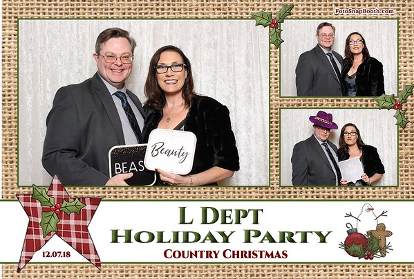L Dept Holiday Party 2018