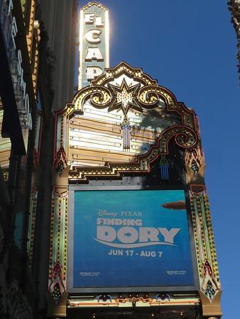 El Capitan Theatre - Finding Dory