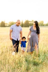 Sarah, Jon, & Dominic Velasco Maternity Session
