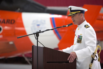 Coast Guard Change of Command