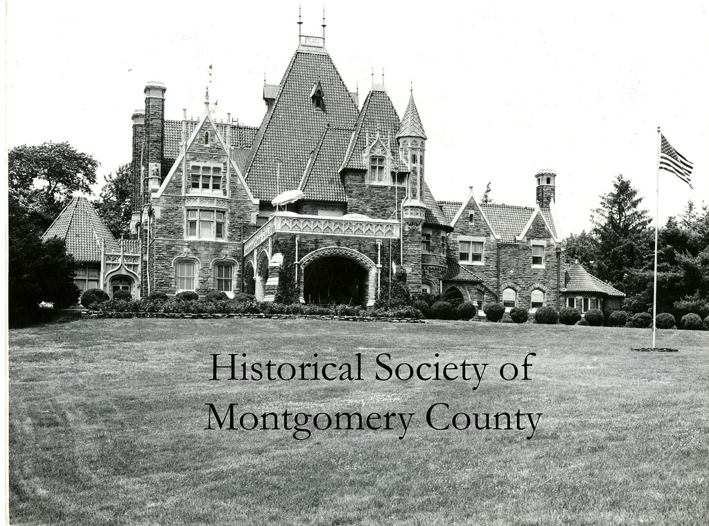 . This undated photo from the Historical Society of Montgomery County shows Woodmont in Lower Merion. It was built by Alan Wood of Alan Wood Steel, located in Conshohocken.