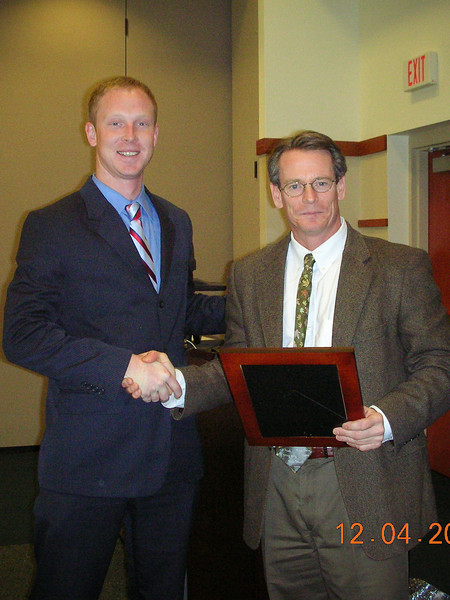 Jeremy Hager 2007 Rookie of the Year.jpg
