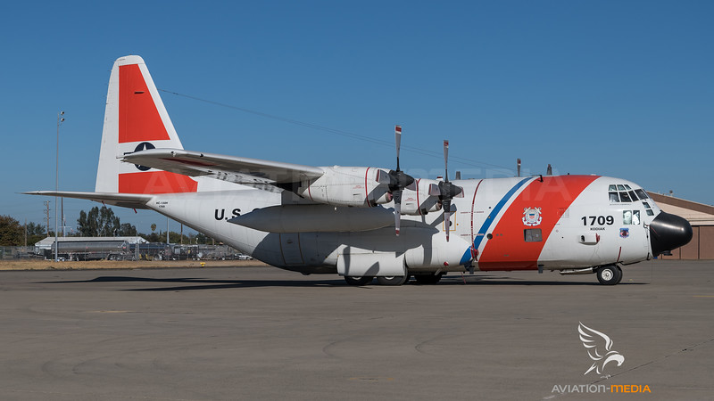 US Coast Guard / Lockheed HC-130H Hercules / 1709