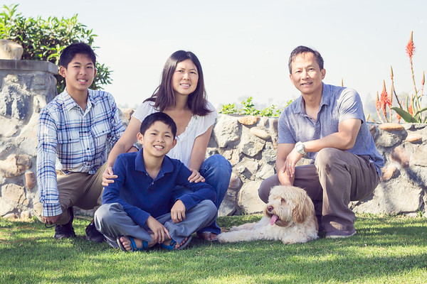 Yu Family Photo Shoot