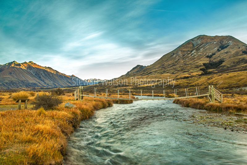 Sing bridge at Mt Sunday (Edoras)