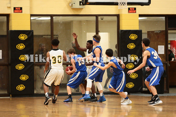 Basketball vs Sheridan Jr High 12-10-2015