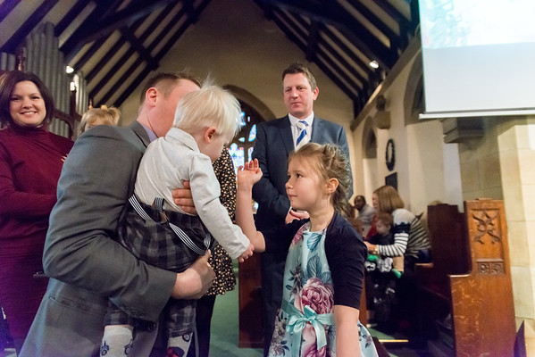 Isaac's Christening