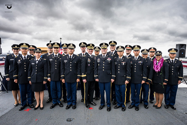 Army Graduation at USS Midway - May 2018