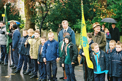 Remembrance Sunday 2002