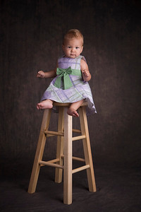 Ainslie's First Birthday Portrait