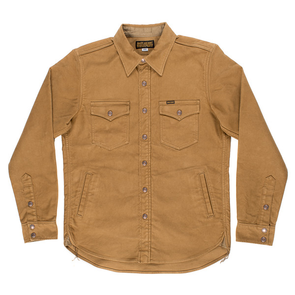 Brown Heavy Moleskin CPO Shirt-Jacket-1.jpg