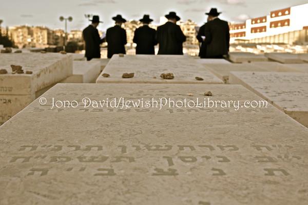 ISRAEL, Tel Aviv, Bnei Brak. Jewish Cemetery. (2.2010)