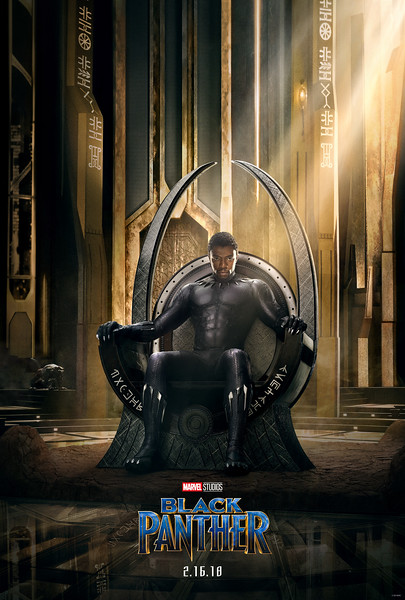 BLACK PANTHER teaser trailer and poster showcase Marvel's newest hero