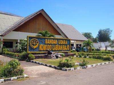 Komodo Labuan Bajo Airport - Flores