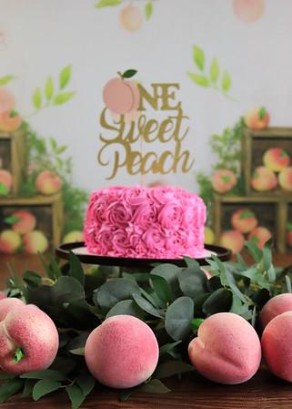 Madilynn turns ONE   One Sweet Peach