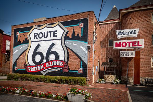 Historic Route 66 in Illinois