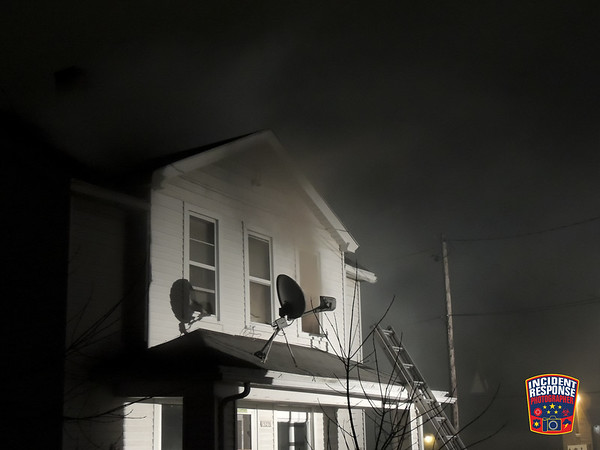 Apartment fire on March 15, 2014