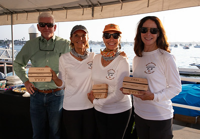 Trophy Ceremony for the Bridges Regatta