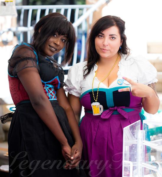 Nakato and Lisa at Oktoberfest 2015