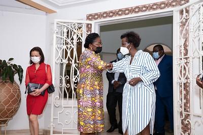 Visite Primature SEMme Victoire Sidémého Tomégah-Dogbé - Lomé
