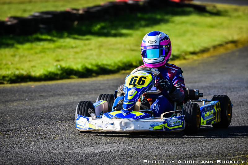 Leinster Karting Club - 2018/19 Winter Championship - Round 3 - Aoibheann Buckley