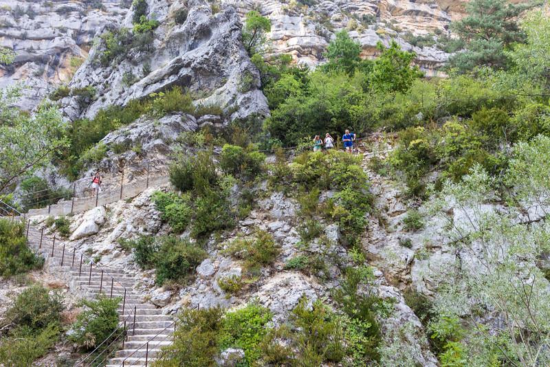 Les Gorges du Verdon: Sentier Martel