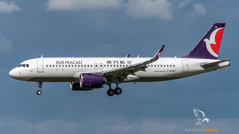 Air Macau / Airbus A320-271N / F-WTBT (to be B-MBO)