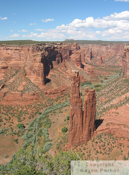 Canyon de Chelly National Park - May, 2005