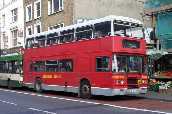 Red Route Buses
