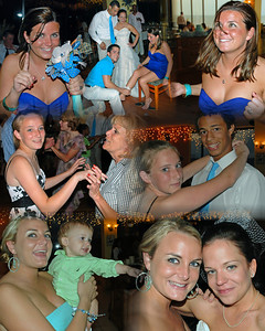 The girls at Laura's wedding