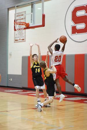 Stebbin's Freshman Boys Basketball 2007-2008