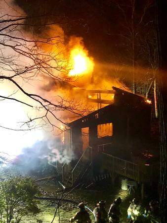 Structure Fire - 8 Manor Drive, Golden's Bridge NY - 2/24/19