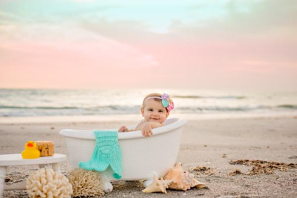 Mermaid Beach Bath 6 month
