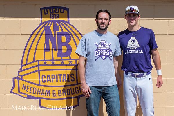 Broughton varsity baseball vs Sanderson. April 24, 2019. 750_0167