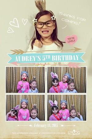 Audrey's 5th Birthday (prints)