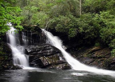 Level 2 falls of Wolf Creek  NC HL Lodge