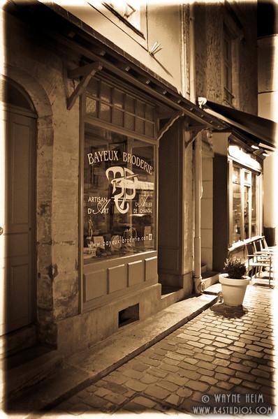 Paris Street at Night 2   Photography by Wayne Heim