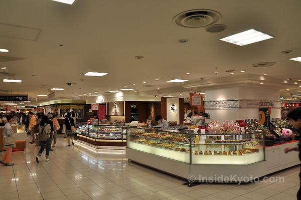 Daimaru Department Store Food Floor, Kyoto