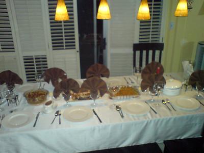 Thanksgiving - November 2007