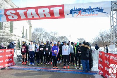 F3 Lake Half Marathon Start