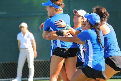 Athletic tennis team success & high athlete GPAs