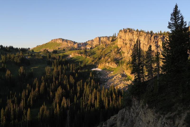 Morning at the top of Granite Canyon